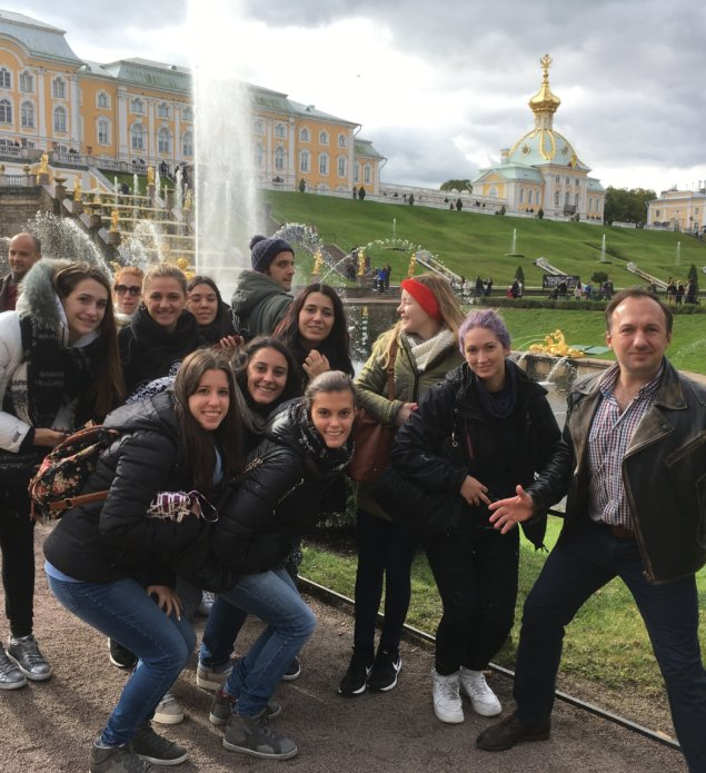 Student group trip