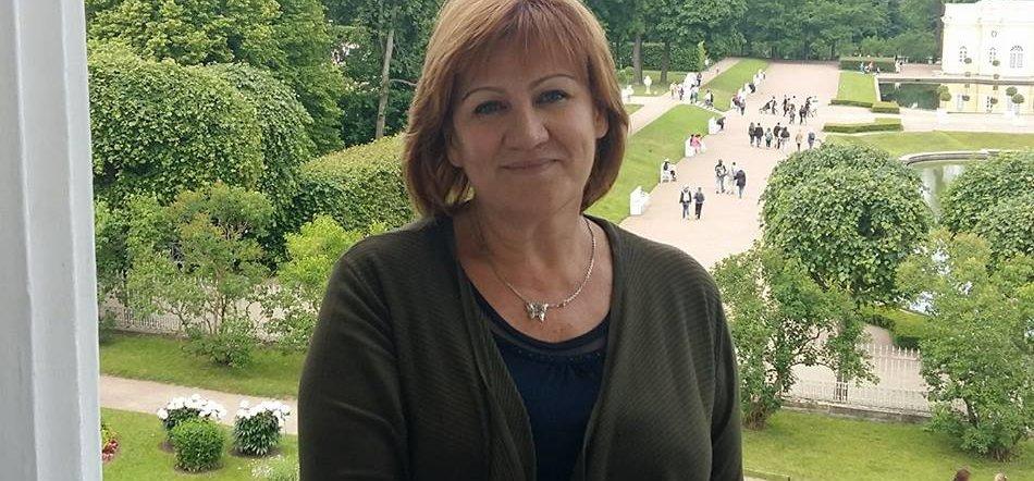 Russian Teacher Nina Ryzhkina