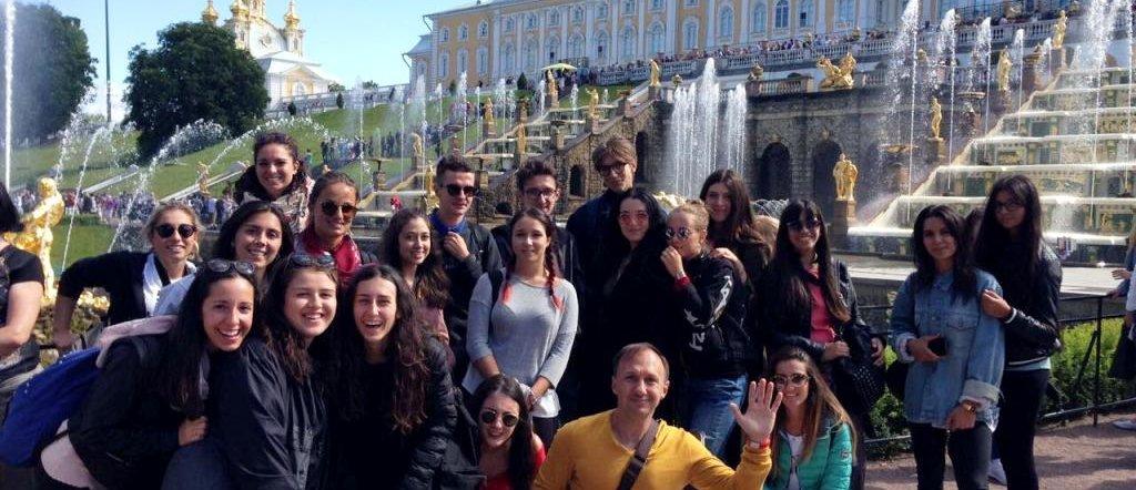 Peterhof excursion