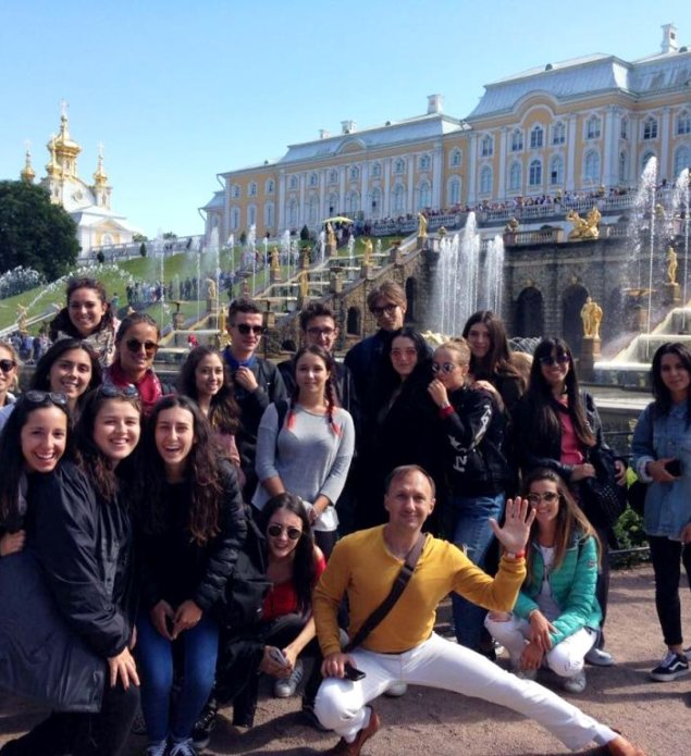 Peterhof excursion